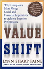 Value Shift Why Companies Must Merge Soc by…