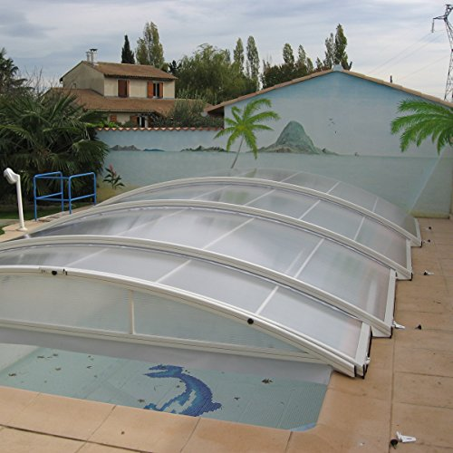 Abri piscine d occasion plus que 4 70 for Abri piscine occasion