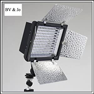 YN-160 LED Video Camera Light for Canon 5D,7D,50D,60D,500D,550D,600D,1000D,1100D,Nikon D700,D300,D400.D200,D90,D60,D3,D2,D1,D7000,D5000,D3100,D3000,Olympus E620,E520,E510,E500,E420,E3,E1,E-P3,EP2,EPL-3,EPL-2,Panasnic LX5,GH1 GF1 GF2,Pentax,Fuji,Sony DSLR/SLR & Camcorder