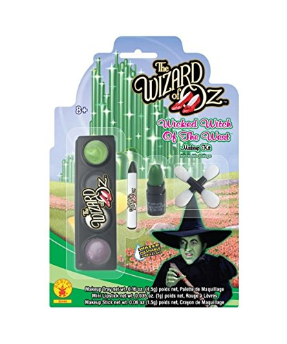 Wizard of Oz Wicked Witch West Girls Halloween Costume Makeup Kit