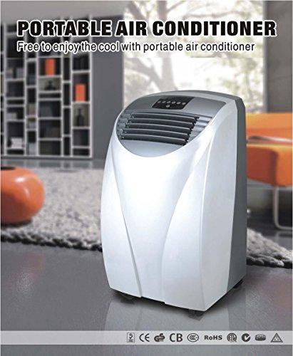 KLAISER MX120 Climatiseur Mobile 4 EN 1 Réversible Ultra Puissant 12000 Btu - 3500W • Avec Télécommande toutes fonctions