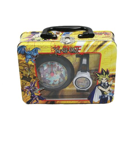 Children Character Accessories NEW!!!!!! Yu gi Oh Wrist Watch Alarm Clock in Decorated Tin Box at Sears.com