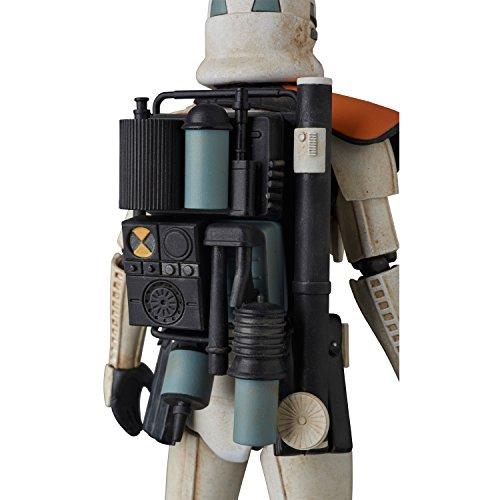 MAFEX マフェックス SANDTROOPER Star Wars: Episode IV ノンスケール ABS&ATBC-PVC塗装済みアクションフィギュア