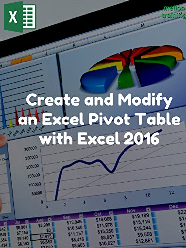 Create and Modify an Excel Pivot Table with Excel 2016