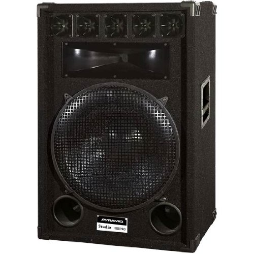 Pyramid Pmbh18 650 Watt 7-Way 18-Inch Speaker Cabinet