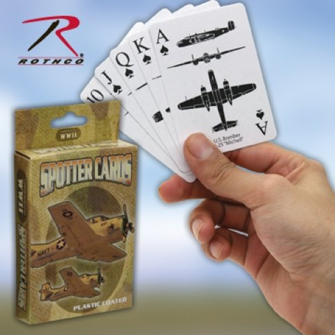 Sales 577 WWII SPOTTER PLAYING CARDS ''CE''