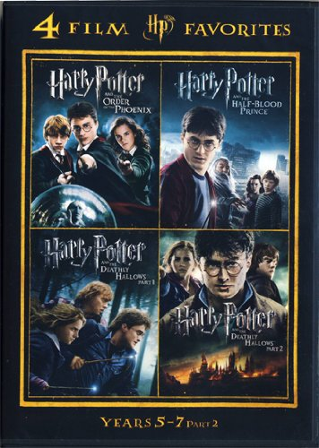 4 Film Favorites: Harry Potter Years 5-7