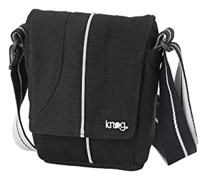 Knog The Pug Dog 10891 Sac à main homme Gris Noir