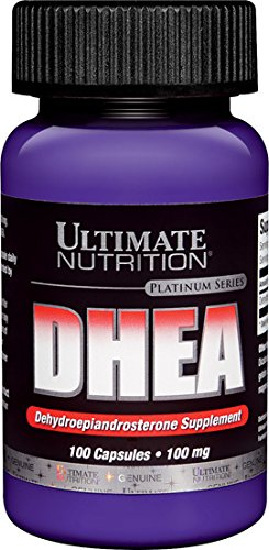 Ultimate Nutrition DHEA 100 mg. 100 Capsules