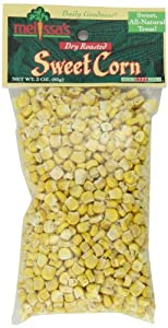 Melissa's Dried Roasted Sweet Corn, 3-Ounce Bags (Pack of 12)