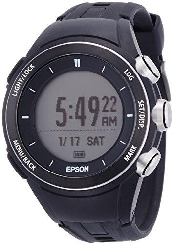[エプソン リスタブルジーピーエス フォー トレック]EPSON Wristable GPS for Trek 腕時計 ランニング 登山用 GPS 3D標高ナビゲーション MZ-500B