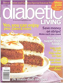 Better Homes And Gardens Diabetic Living Fall 2009 Kelly
