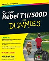 Canon EOS Rebel T1i/500D For Dummies Front Cover