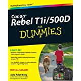 Canon EOS Rebel T1i/500D for Dummiesby Julie Adair King