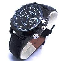 Axvalue HD高画質 水深100M防水720Pレンズ 高級防水腕時計型 フルハイビジョンビデオ&カメラ 高解像度4032×3024 4GB内蔵 ハイスペックモデル