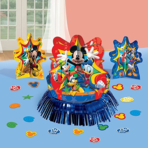 Disney Mickey Mouse and Friends Party Table Decorations Kit ( Centerpiece Kit ) 23 PCS - Kids Birthday and Party Supplies Decoration