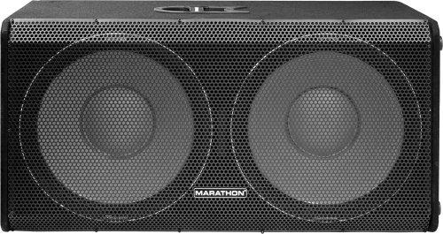 Marathon Entertainer Series Ent-218 Dual 18-Inch Subwoofer System