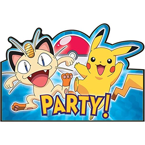 American-Greetings-Pokemon-Party-Invitations-Cards-Envelopes-Save-the-Dates-8-Count
