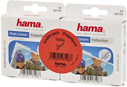 Hama 00007108 Coins adhésifs pour Photo