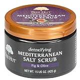 Tree Hut Mediterranean Salt Scrub Fig and Olive 15.5 Ounce