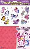 echange, troc Collectif - Stickers Holographiques Matelasses et Repositionnables Mon Petit Poney