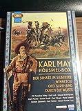 Karl May - H�rspiel-Box: Der Schatz im Silbersee - Winnetou - Old Surehand - Durch die W�ste (4 MP3 CD`s)