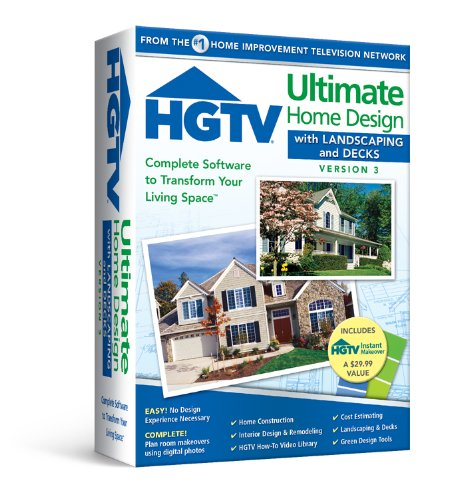 Hgtv Ultimate Home Design With Landscaping & Decks 3.0 front-784466