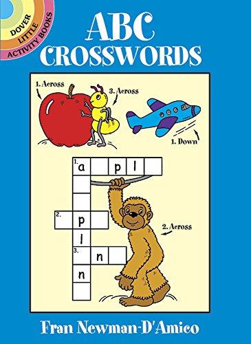 Abc Crosswords (Dover Little Activity Books) front-978843