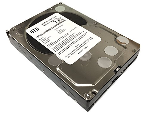 "WL 6TB 5700RPM 64MB Cache 5700RPM SATA III (6.0Gb/s) 3.5"" Internal Hard Drive (Desktop PC, CCTV DVR, NAS) - w/1 Year Warranty"