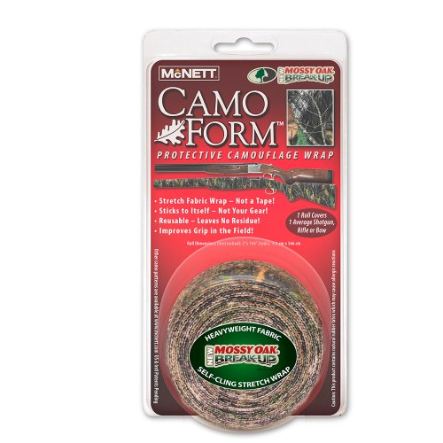 Mcnett Camo Form Protective Camouflage Wrap, Mossy Oak Break Up