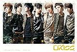 J-4191 U-kiss (Band)- Soohyun, Eli, Hoon, Aj, Kevin, Dongho, Kiseop South Korea Boy Band Collections, Decorative Poster Print Vintage New Size: 35 X 24 Inch.#1
