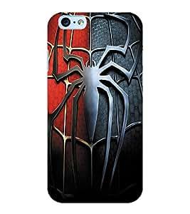 ColourCraft Spider Design Back Case Cover for APPLE IPHONE 6