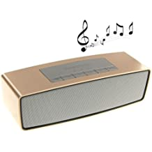 Micromax Canvas Viva A72 ESTAR BRAND COMPATIBLE Certified Portable HiFi wireless Bluetooth Pill Speaker TF Card MP3 Player Mobile Phone Handsfree Mic Stereo Audio mini Speaker Supported Devices