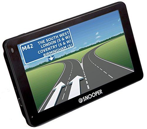 Snooper Truckmate GPS pour camion avec cartes Pro S2500portable Système de navigation par satellite