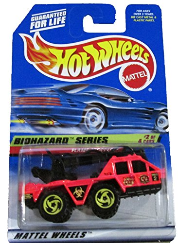 Hot Wheels - 1998 Biohazard Series 2/4 - #718 - Flame Stopper (w/tampo) - 1