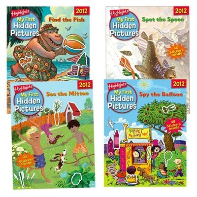 Essential Learning Products 6624 My First Hidden Pictures 2012 - 4 Book Set