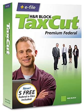 H&R Block TaxCut 2008 Premium Federal + e-file [OLD VERSION]
