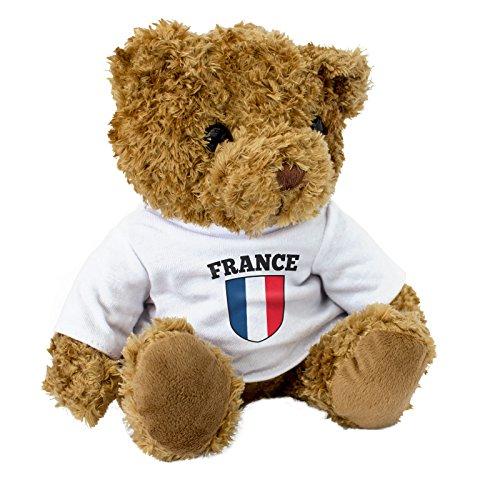 Neu france flagge braun teddybär niedlich weich