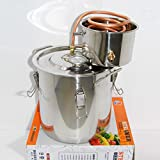 Selani™ 3 Gal Water Alcohol Wine Distiller Moonshine Still Stainless Boiler 10-12L