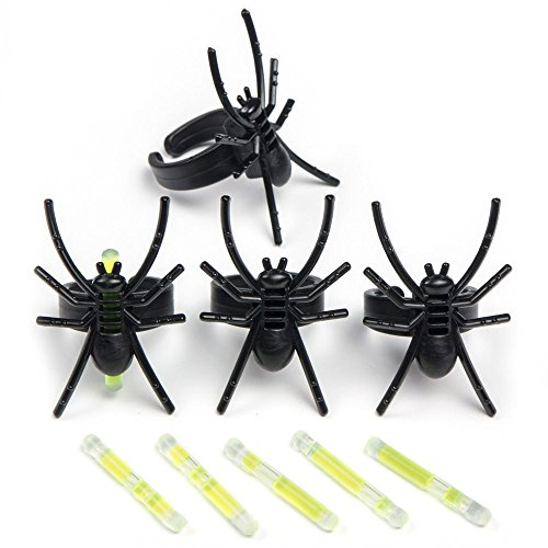 Amscan Spider Glow Rings-4 pieces