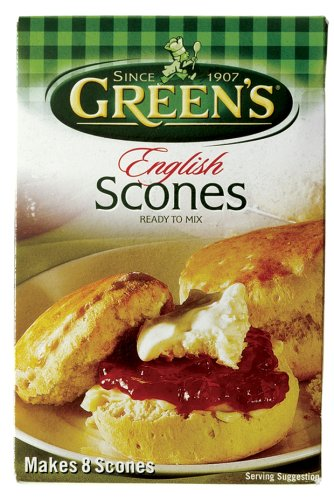 Buy Greens Engllish Scone Mix, 8.46 Ounce Box (Pack of 12) (Greens, Health & Personal Care, Products, Food & Snacks, Baking Supplies, Baking Mixes)