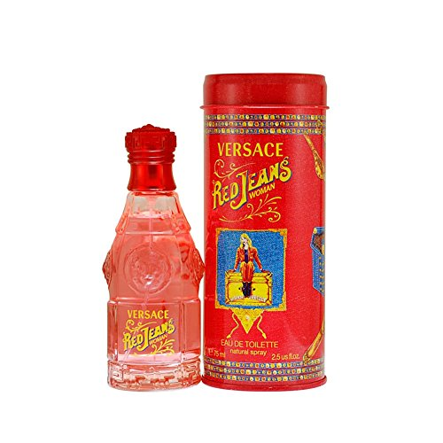 Gianni Versace Red Jeans Eau de Toilette, Uomo, 75 ml