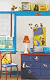 RoomMates RMK1037SCS Curious George Peel and Stick Wall Decals