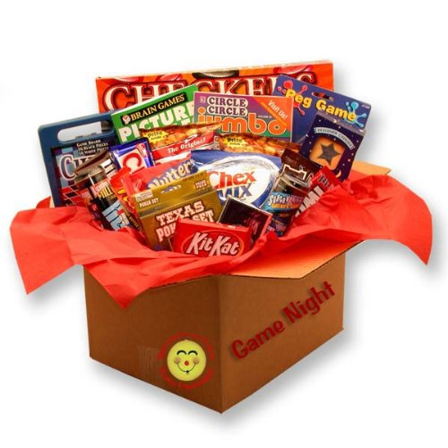 Family Gift Basket, It's a Family Game Night Care Package