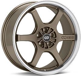 Enkei SR6- Performance Series Wheel, Matte Bronze (16×7″ – 5×114.3/5×4.5, 45mm Offset) One Wheel/Rim
