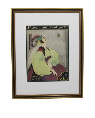 Original Vogue Cover from 1916 by George Wolfe Plank As You See
