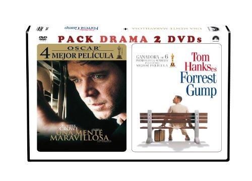 Pack Duo Horizontal: Forrest Gump + Una Mente Maravillosa [DVD]