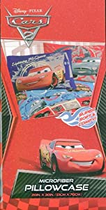 "Disney Pixar Cars Microfiber Pillowcase 20"" x 30"" at Sears.com"