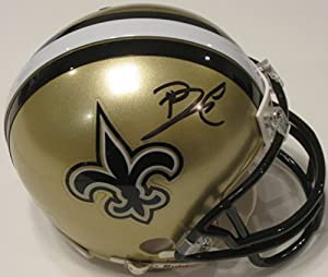 Brandin Cooks, New Orleans Saints, Signed, Autographed, Mini Helmet, a COA with the... by Coast to Coast Collectibles
