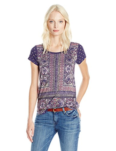 lucky-brand-womens-plus-size-painted-border-tee-blue-multi-2x